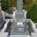 和型墓石 緑系御影石